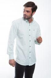 Camisa social Mangalarga chancela - Verde claro