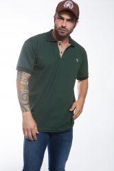 Polo Mangalarga Masculina - Verde