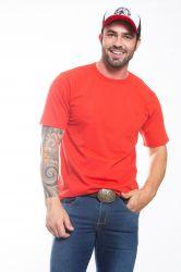 Camiseta básica Masculina - Vermelha