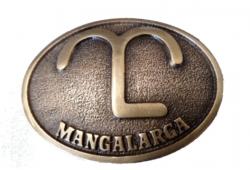Fivela Mangalarga ML - Dourada