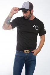 Camiseta estampada - Preto