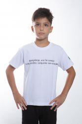 Camiseta estampada - Branco