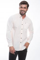 Camisa social Mangalarga chancela - Salmão