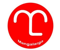 Adesivo Mangalarga 12x12cm - Vermelho