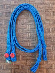 Traia Mangalarga Haddad - Rédea Aberta de cordinha - Azul escuro