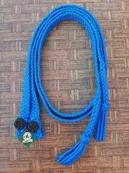 Traia Mangalarga Haddad - Rédea Aberta de cordinha - Azul claro