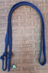 Traia Mangalarga Haddad - Rédea Fechada de cordinha - Azul Marinho
