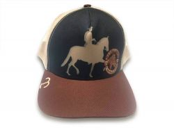 Boné - Cavalo de Marcha - Marrom