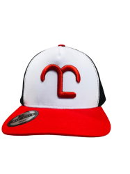 Boné Mangalarga Preto E Vermelho - ML vermelho