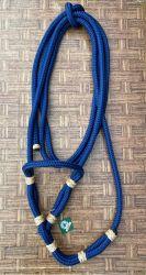 Traia Mangalarga Haddad - Cabresto simples para o dia a dia, sem regulagem - Azul